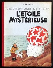 Tintin (une aventure de) 10 L'Étoile mystérieuse - B6 1952 (Hergé) (be/tbe)