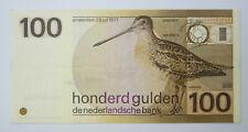 NETHERLANDS 100 Gulden Guilder 1977 Snip p-97a