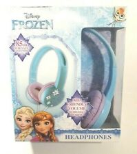 Frozen Kid Safe Headphones Adjustable Headband Volume Limiting Ages 6+ NEW!
