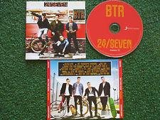 Boy Band BIG TIME RUSH **24/Seven** 15 TRACK (Deluxe) CD ORIGINAL EU 2013