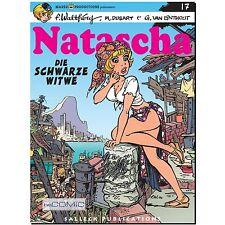 Natascha 17 Die schwarze Witwe François Walthéry FUNNY franko belgisch COMIC