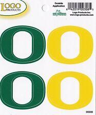 "University of OREGON - Exterior Decal - QUAD - ""O"" - Yellow & Green"