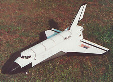 1/25 Scale Space Shuttle Plans, Templates and Instructions (Pusher Prop) 37ws