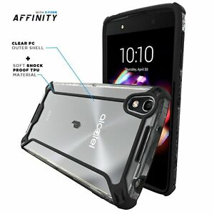 For ALCATEL OneTouch Idol 4 POETIC Affinity Dual material Shockproof Bumper Case