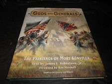 GODS AND GENERALS BOOK AND MOVIE ON DVD, ART BOOK BY MORT KUNSTLER