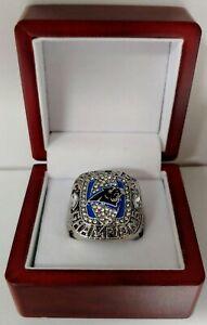 Cam Newton - 2015 Carolina Panthers NFC Championship Ring WITH Wooden Box