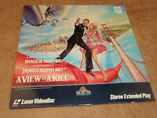 A View To A Kill Laserdisc James Bond 007 LD