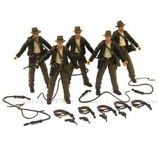 """5Pcs INDIANA JONES Toys RAIDERS OF LOST ARK 4"""" JOINTED FIGURE Toys Hot Gifts"""