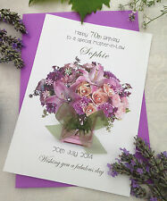 Personalised Card Mother Grandmother Nan Aunt Birthday Friend 50th 40th 90th