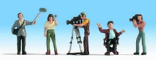 Noch 15573 Camera Crew HO Gauge Figures Set