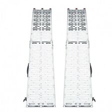 Coppia rampe Rampa Pedane Pedana Pieghevoli in Alluminio Portata 680kg ATV001