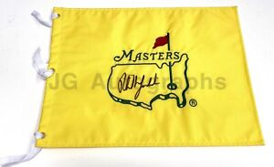 Phil Mickelson - Autographed PGA Masters Golf Flag - w/ PSA LOA