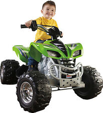 Kids ATV 4 Wheeler Bike Quad Riding Toy Ride On Vehicle Power Wheels Kawasaki
