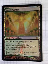 Mtg Magic the Gathering Return to Ravnica Temple Garden FOIL