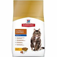 Adult 7+ Hairball Control Chicken Recipe Dry Cat Food 3.5 lb bag