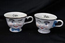 Baileys Yum Winking Boy and Girl Mugs Set of 2  Irish Cream  Ireland