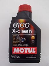 MOTUL OLIO MOTORE AUTO 8100 X-CLEAN 5W-40 100% SINTETICO 1 LITRO per AUTO BMW