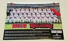 2016 AAA SGA Rochester Red Wings team photo picture rookie Byron Buxton