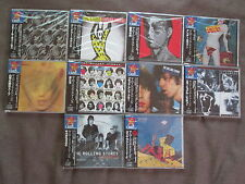 SEALED PROMO Lot of 10 ROLLING STONES JAPAN CD 1998 Limited issue VJCP-18013~26