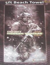 New Call of Duty Modern Warfare 2 Beach Bath Pool Gift Towel XBox Wii Game 30x60