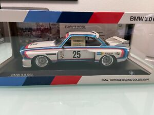 BMW 3,0 CSL Dealer Heritage Collection limited in 1:18