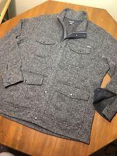 Eddie Bauer 4 Pocket Sweater Fleece Field Jacket Men's XXL
