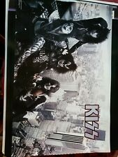 KISS OVER NYC 1977  PROMO POSTER