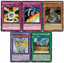 Rainbow Dark Dragon Set: + Neos + Path + Gravity + Ancient City Ruins Yugioh