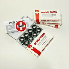 Bones Swiss Skateboard Bearings / Scooter bearings 8 pack brand new