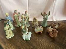 Vintage Porcelain Nativity set