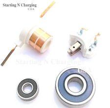 Ford 3G Alternator Repair Kit Bearings Slip Ring Brushes Lincoln Mercury Mazda