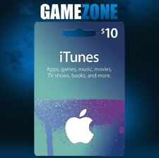 iTunes Gift Card $10 USD USA Apple iTunes Code 10 Dollars United States Digital