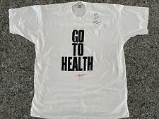 Vintage 1993 Richard Simmons Signed Go To Health XXXL Shirt