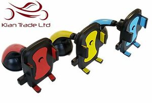 UNIVERSAL CAR MOBILE PHONE GPS HOLDER MOUNT CRADLE WINDSCREEN STRONG SUCTION
