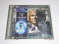 DR Doctor Who - The Condemned - GENUINE 2x CD Audiobook - EXC CONDIT Colin Baker