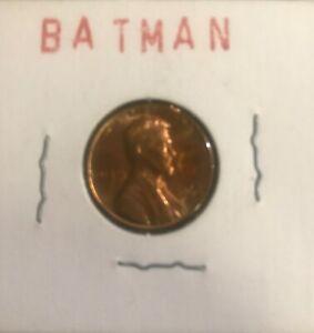 VINTAGE *RARE* 1966 BATMAN LINCOLN PENNY batman stamp (MINT CONDITION)