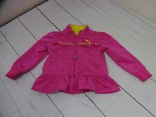 Puma Girls Pink Ruffle Jacket Size 18 Months - A1483