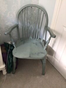 Solid Wood Farmhouse Style Chair