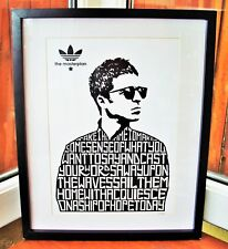 Oasis/Noel Gallagher/The Masterplan A3 size typography art print/poster