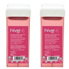 X 2 Hive of Beauty cera rullo sensibili creme con grande testa fissa 100g Cartuccia