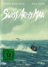 SWISS ARMY MAN (Daniel Radcliffe) Blu-ray Disc + DVD + CD, Mediabook NEU+OVP