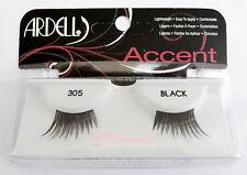 NIB~ Ardell ACCENTS LASHES #305 Half Lash Eyelashes False Fake Black Doll