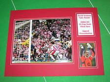 David Seaman Signed Arsenal FC 2002/03 FA Cup Semi-Final Wonder Save Mount