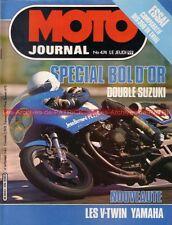 MOTO JOURNAL  474 SPECIAL BOL d'OR 1980 ; Trial : Bultaco Montesa Ossa SWM 1980