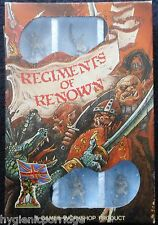 1985 RR4 Mengil Manhides Dark Elves Regiments of Renown Manflayers RR11 Drow MIB