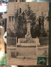 cpa 08 vouziers monument taine