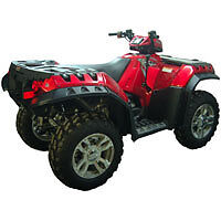 POLARIS SPORTSMAN 850 550 XP ATV OVER FENDERS FLARES MUD GUARDS CUSTOM FIT