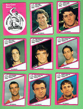 1988 GOLD COAST GIANTS SCANLENS RUGBY LEAGUE CARDS