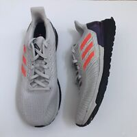 New Adidas Solar Boost ST 19 Shoes Gray Red Cloud White EG2354 Mens Size 10