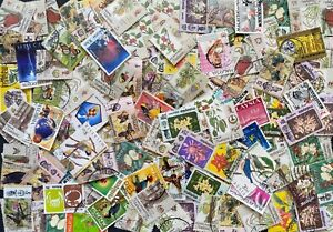 Malaysia Stamps collection of 200 stamps,  All Different